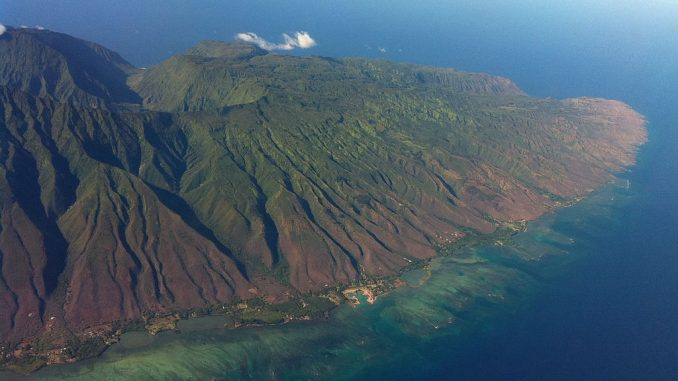 モロカイ島 ハワイの山
