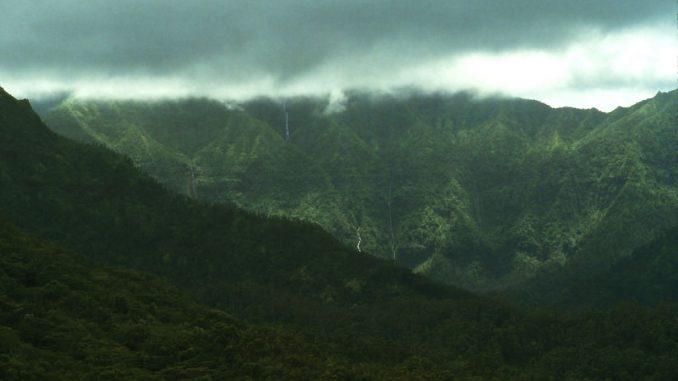 ワイアレアレ カウアイ島 ハワイの山