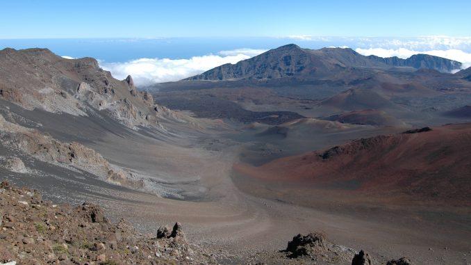 ハレアカラ マウイ島 ハワイの山