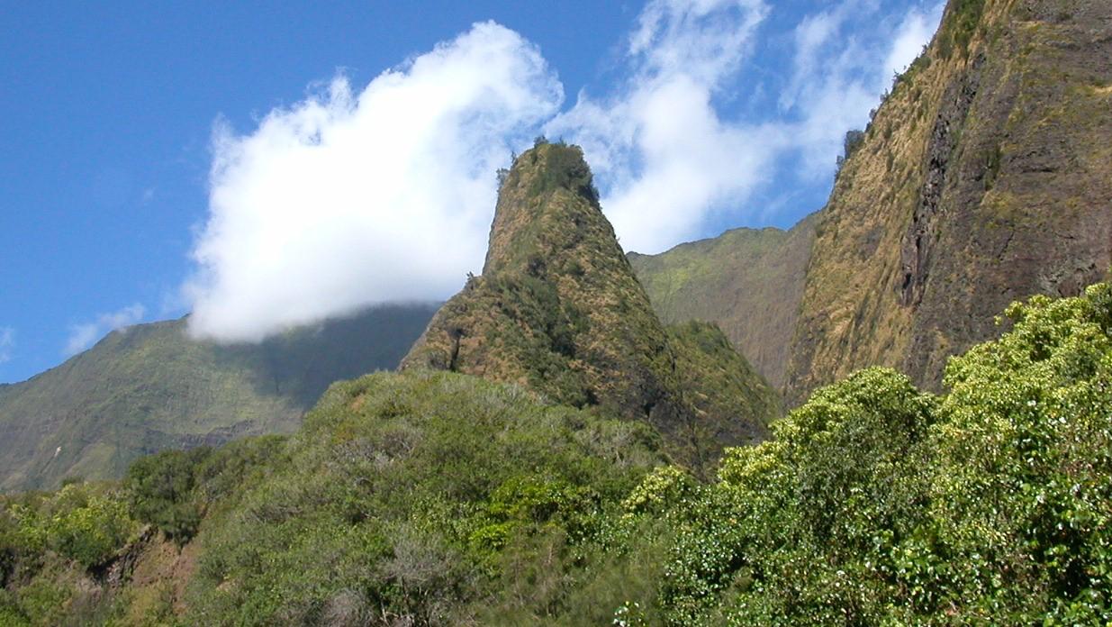 マウナレオ  マウイ島イアオ渓谷