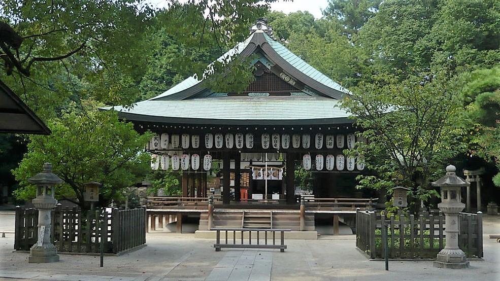 白峯神宮 崇徳院