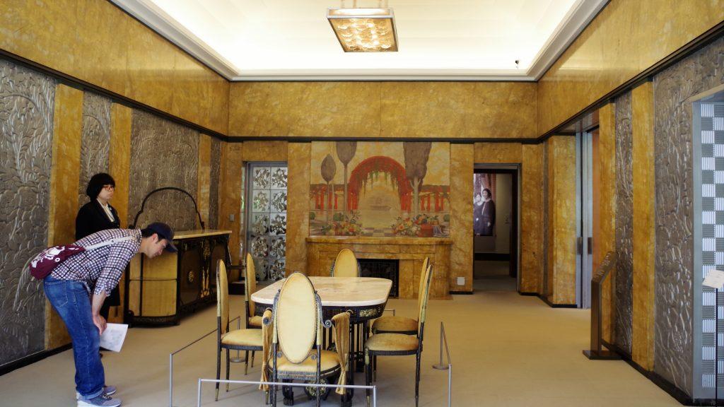 来客時の会食に使われた大食堂