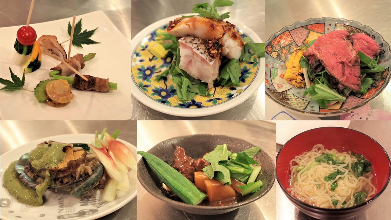 川嶋健司さん料理