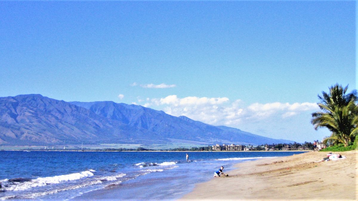 マウイのビーチ