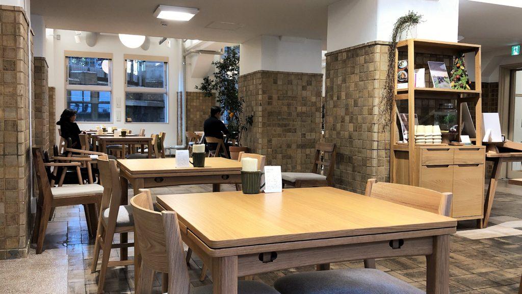 ゆかしの杜 カフェ くつろぎの空間
