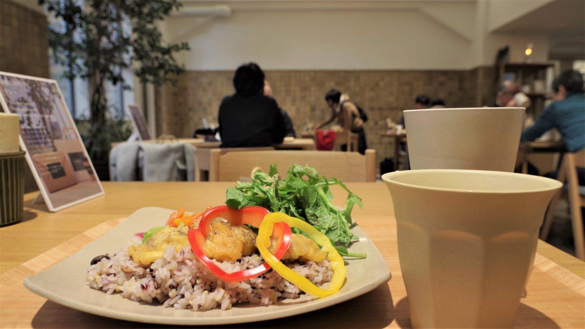 ゆかしの杜のカフェ(Photo by  MUSBIC)