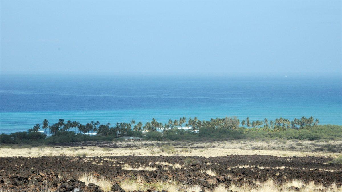 ハワイ島の海岸線