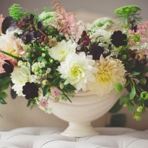 美しい花の香りを表現したフローラルノート