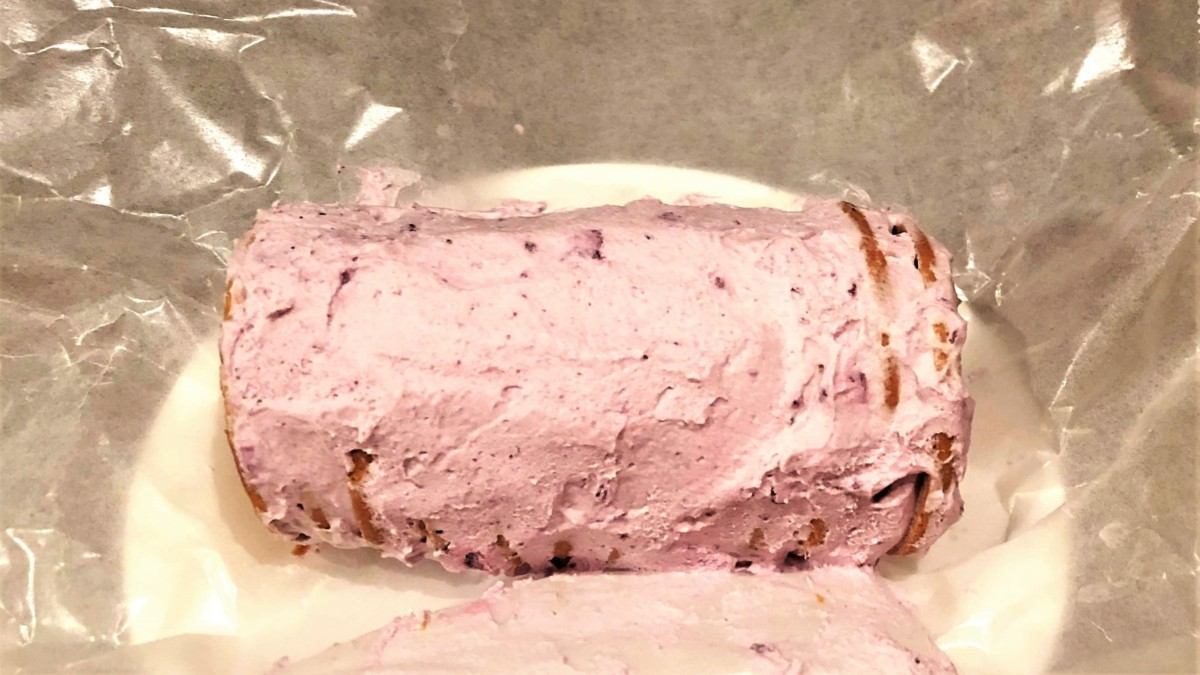 ビスケットケーキ ブルーベリー