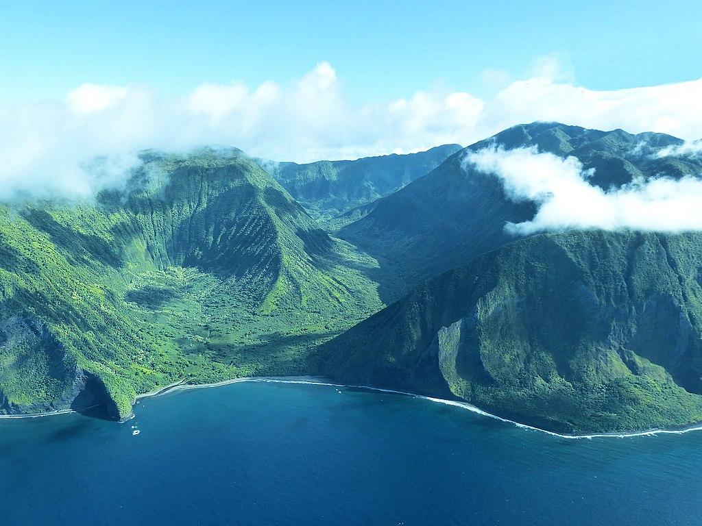 モロカイ島 緑 ハワイ