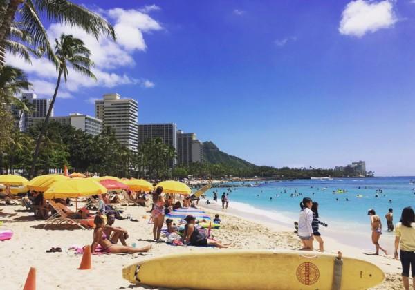 ワイキキビーチ オアフ島 ハワイ