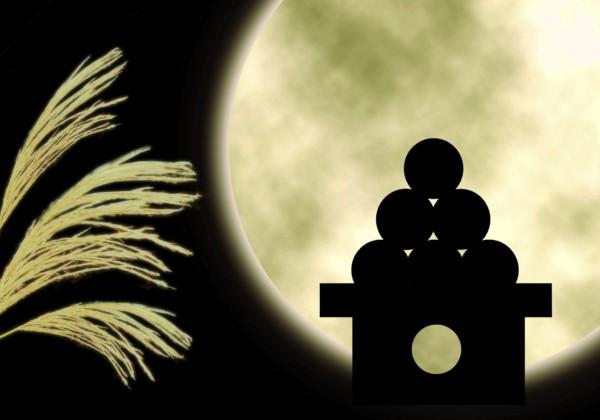 お月見 十五夜 中秋の名月 仲秋の名月