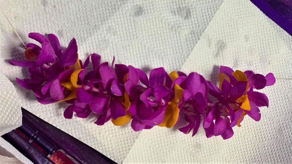蘭のレイ カレイヒイマクア