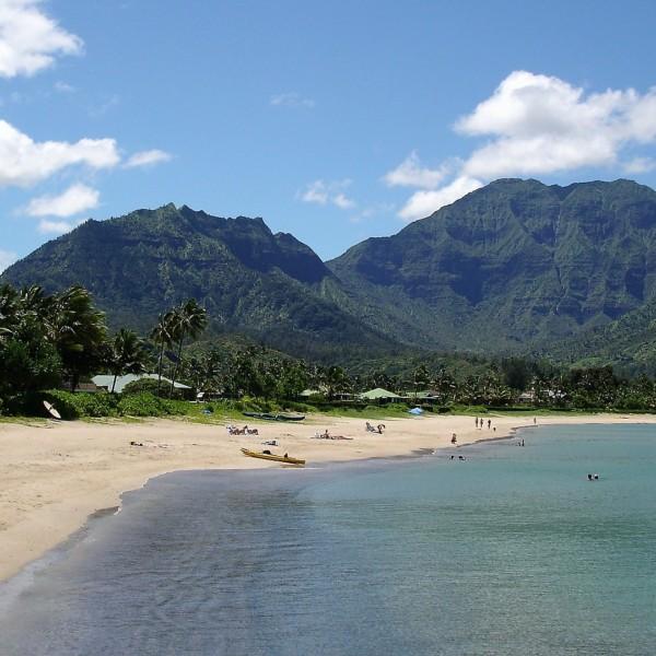 ハナレイ湾 カウアイ島 ハワイ