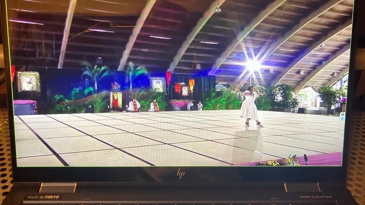 メリーモナーク・フェスティバル ミス・アロハ・フラ フラダンス